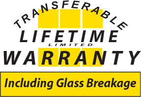 BFRich Transferable Lifetime Limited Warranty Including Glass Breakage