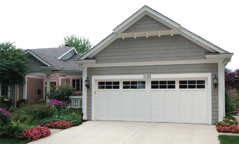 NH Haas American Tradition Series Garage Doors