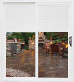 NH BayView 2500 sliding patio door Vinyl Replacement & New Construction Windows