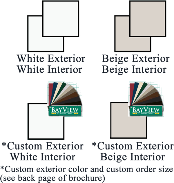 NH BayView 2500 sliding patio door Natural Selections Color Palette Vinyl Replacement & New Construction Windows